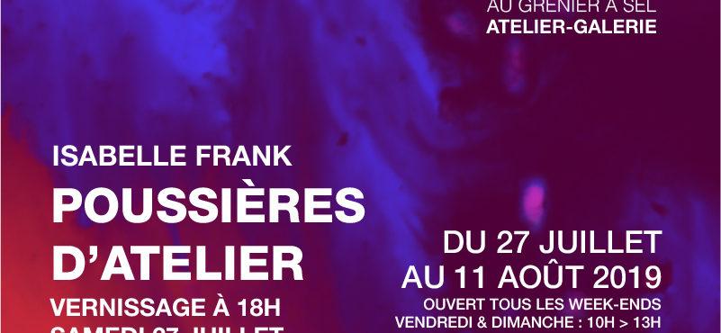 Exposition «Poussières d'atelier» d'Isabelle Frank