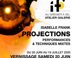 Projections d'Isabelle Frank